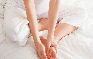 Профилактика от потливости ног