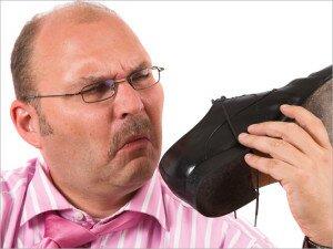 Неприятный запах ботинок