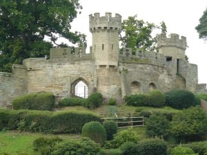 Замок средневековой Англии