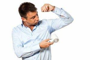 Гипергидроз у мужчины