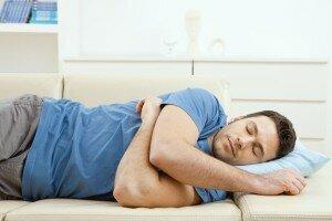 Здоровый сон у мужчины