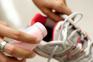 Сода от запаха в обуви