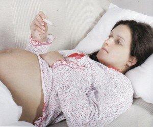 Озноб у беременной женщины