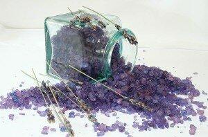 Морская соль для ванны с шалфеем