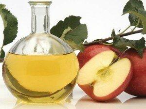 Яблочный уксус против потливости