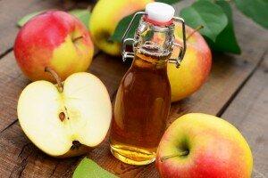 Средство от пота - яблочный уксус