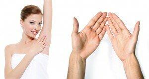 Уротропин для подмышек, рук и ног