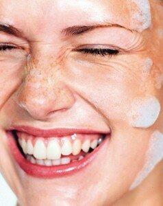 Умывание с мылом