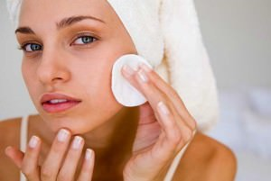 Очищайте кожу