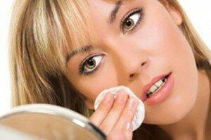 Протирание кожи