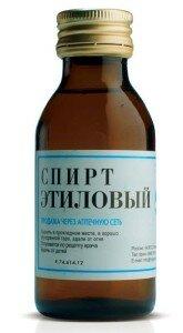 Спирт для дезинфекции