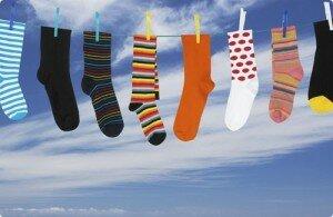 Чистые носки