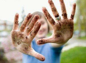 Грязные руки как причина сыпи