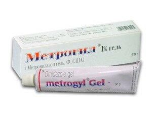 Метрогил гель